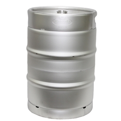 1/2 Barrel Keg AISI 304 Stainless Steel